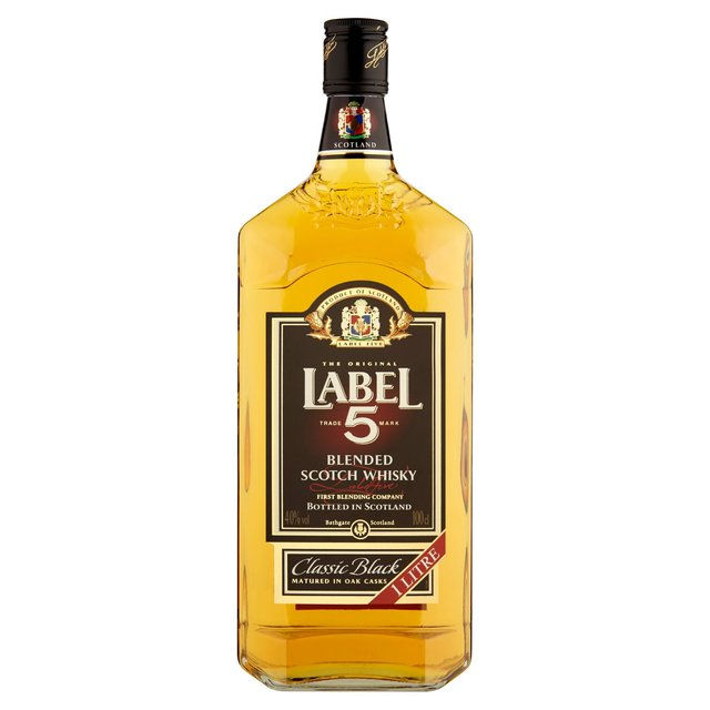 Label 5 classic Blend Whisky