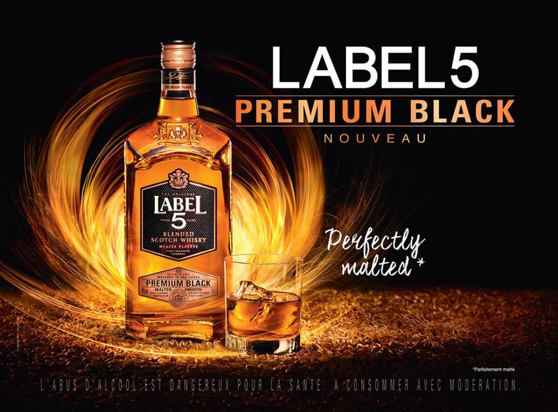 Label 5 premium Blend Scotch Whisky