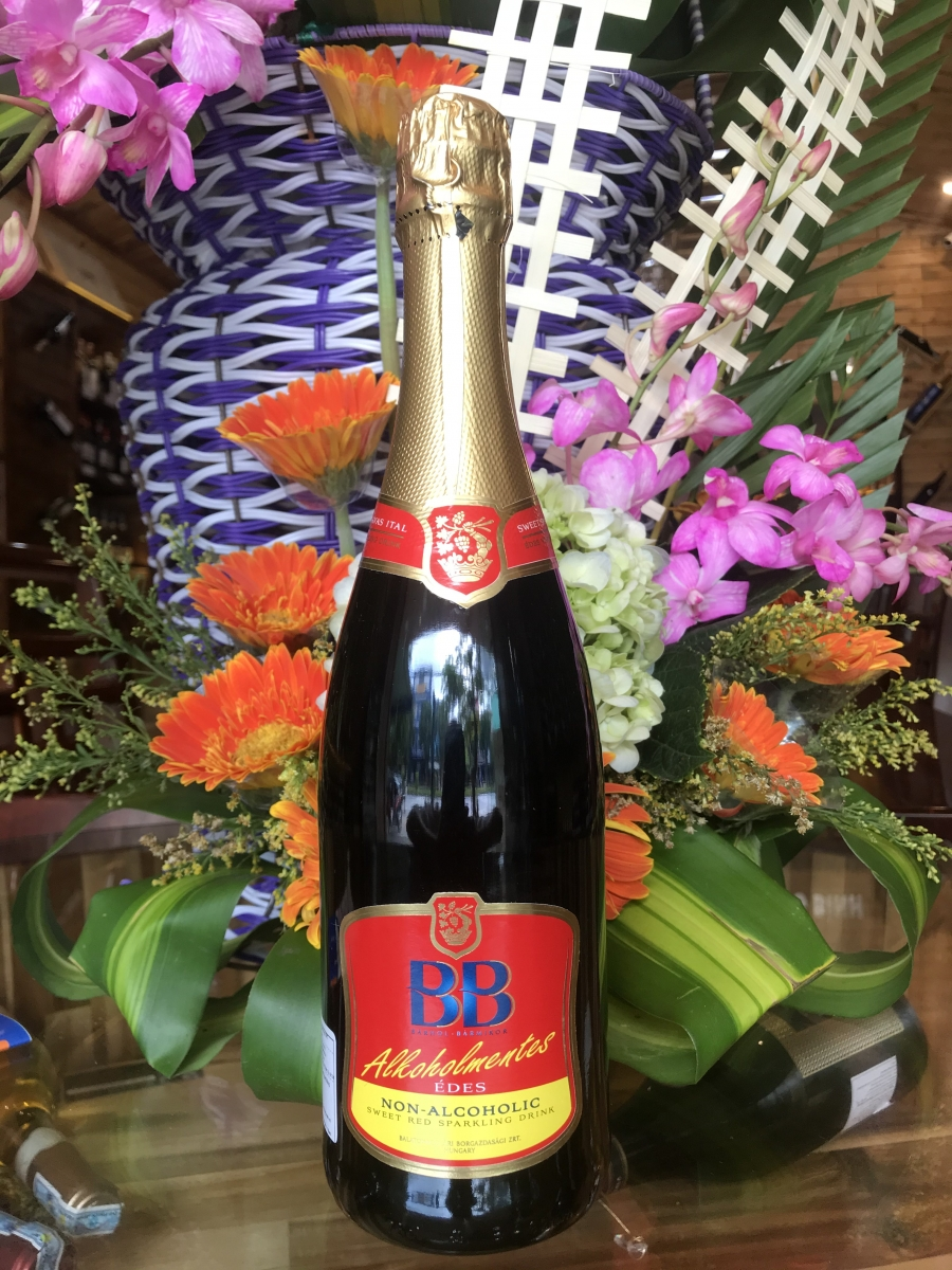 BB Alcohol Free Red Sparkling