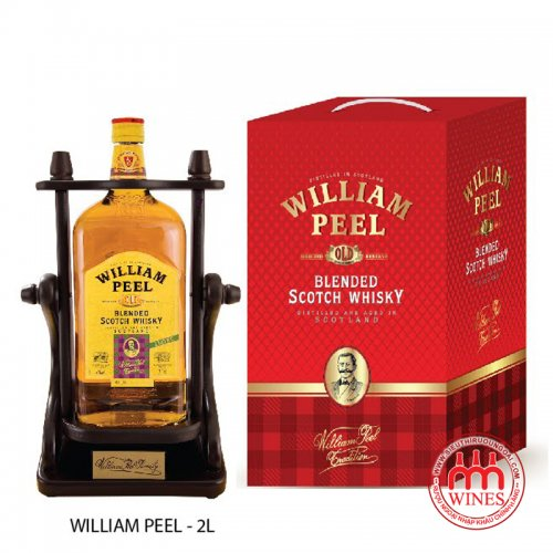 William peel blend scotch whisky