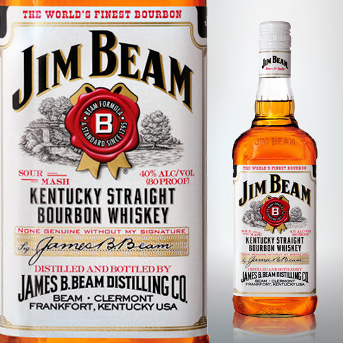 Bourbon Whiskey Jim Beam